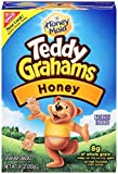 Teddy Grahams Snacks, Honey, 10-Ounce Boxes (Pack of 6)