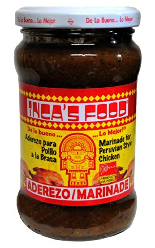 Aderezo/ Chicken Marinade 10.5 oz Inca's Food - Product of Peru 3 pack