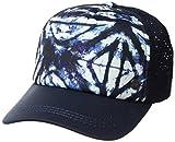 Roxy Junior's Waves Machines Trucker Hat, Dress Blues Geometric Feeling, One Size