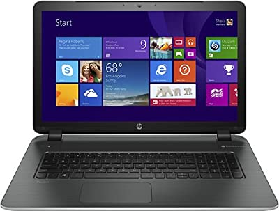 HP Pavilion 17-f114dx 17.3-Inch Notebook (3.1 GHz Intel Core i7-4510U Processor, 6GB DDR3L, 750GB HDD, Windows 8.1)