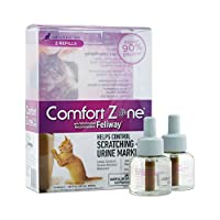 Zona de confort con repuestos de difusor Feliway para calmar gatos, paquete de 2