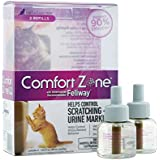 Comfort Zone Cat Calming Diffuser Refills, 2 Pack