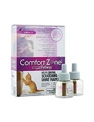 Comfort Zone Feliway Diffuser Refill, 2 Pack, For Cat Calming