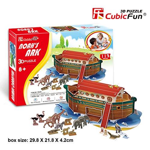 3D Puzzle - Noah's Ark (Difficulty: 4/8)