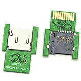 SD2VITA PSVITA Game Card Adapter - PSVSD Card Converter with Gold Pinned Latest V3.0 PCB Design, Transfer Micro SD TF Card to PS VITA Memory Card Up to 128GB for PSV1000/PSV2000 HENkaku 3.60