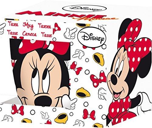 Disney Promo Barrel Oh Minnie Icons Ceramic Mug Set, 280ml, Set of 2, Multicolour