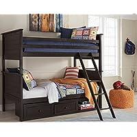 Signature Design by Ashley B521-50 Jaysom Under Bed Storage, Twin, Black