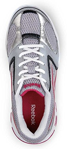 free shipping sast very cheap Reebok Senexis MaxTrax Women's Slip Resistant Sneaker White / Pink fashionable KQjtB