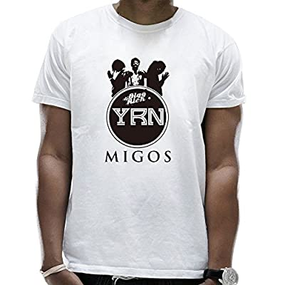 Men's Migos YRN(Young Rich Niggas) LOGO Personalized Shirt