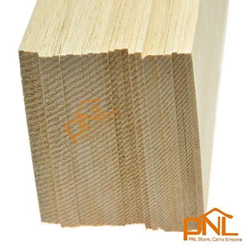 BALSA Wood 20 Sheets 150x100x1mm Excellent Model Balsa Wood