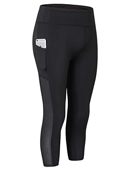 Amazon.com: MISSCHEN - Pantalones de yoga para mujer con ...