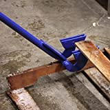 "Pallet Buster- Heavy Duty Pallet Breaker with Bar Handle, Easily Break Down Pallets with Little to No Waste, 39"" Pry Tool, a U.S. Solid Product"