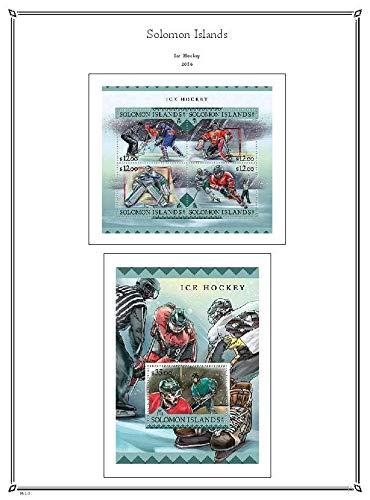 PALO Solomon Islands 2016 hingeless Stamp Album Pages