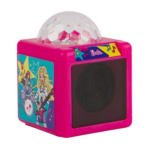 Barbie Kids Bluetooth Karaoke Machine with Light-Up Disco Ball by Barbie (Image #4)
