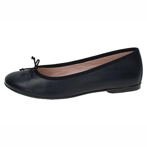 865f496a4fc LORENA MASSÓ 314M Bailarinas Negras Mujer Manoletinas Negro 37  Amazon.es   Zapatos y complementos