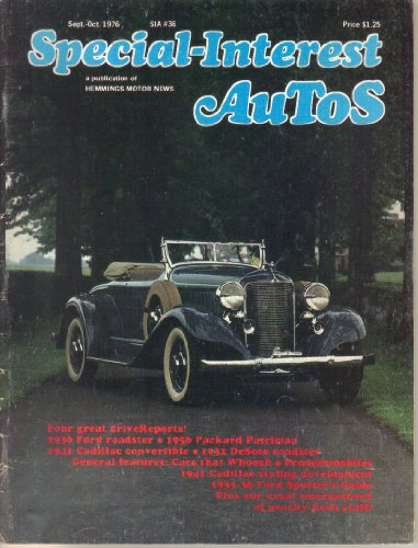 Used, Special-Interest Autos Magazine, No. 36 (September-October, for sale  Delivered anywhere in USA