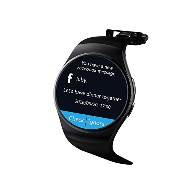 Green Mermaid the New KW18 Smart Watch with IPS Round Screen ...