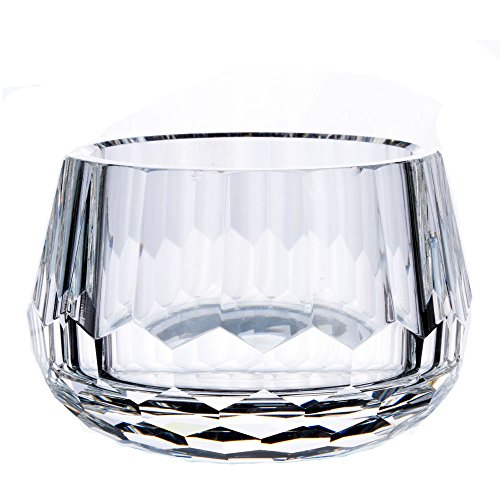 Donoucls Crystal Candy Dish,Hand Cut Glass Bowl Clear 2.4