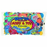 Pinata Filler with Assorted Candy and Toys, 2lbs