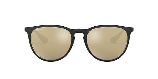 d4b5d4b31c Amazon.com  Ray-Ban Womens Erika Sunglasses (RB4171) Black Brown  Plastic