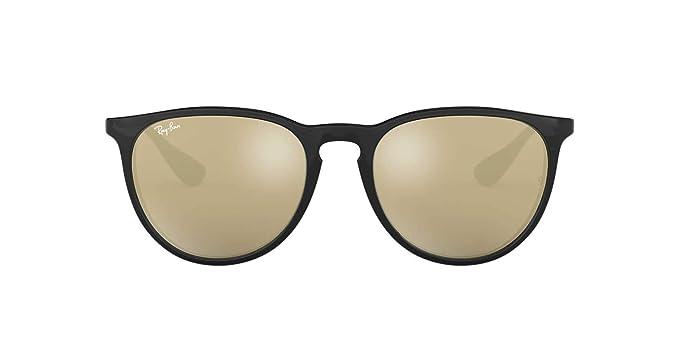 1b185d7303d Amazon.com  Ray-Ban Womens Erika Sunglasses (RB4171) Black Brown  Plastic