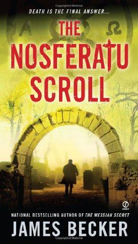 book cover of The Nosferatu Scroll