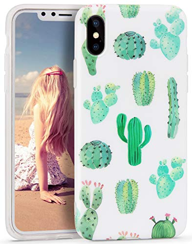 iPhone-x-Case-Imikoko-Slim-Fit-Matte-TPU-Clear-Bumper-Flexible-Rubber-Silicone-Thin-Protective-Phone-Case-Cover-for-iPhone-x