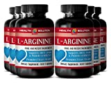 L-arginine - L-ARGININE 500MG - improve immune function (6 Bottles)