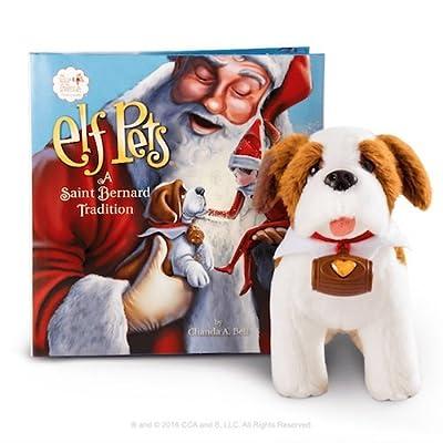 Elf on The Shelf EPSB Pets: A St. Bernard Tradition Plush: Toys & Games