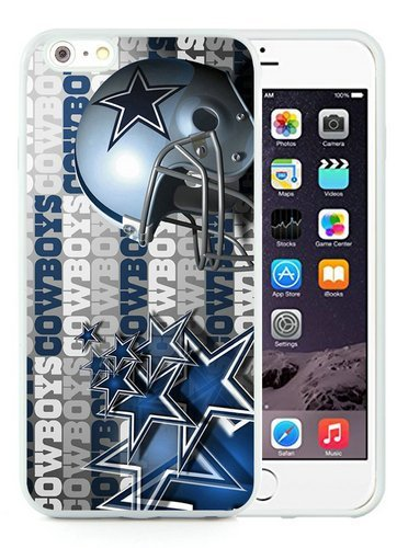 Dallas Cowboys (2) White Shell Case for iPhone 6S Plus 5.5 Inches,iPhone 6 Plus TPU Cover