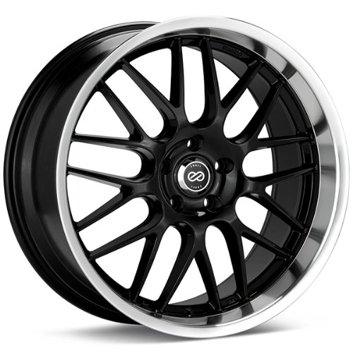 18×8 Enkei Lusso (Black) Wheels/Rims 5×120 (469-880-1240BK)