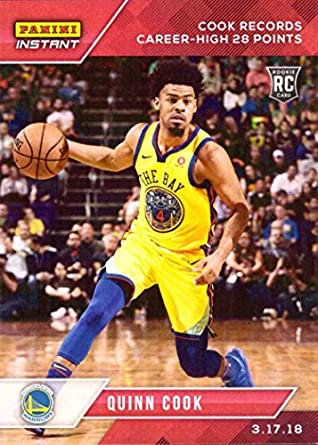 new products a59dc 2d320 Amazon.com: 2017-18 Panini Instant NBA Basketball #116 Quinn ...