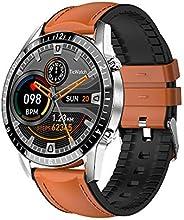 Relógio inteligente compatível com iPhone e telefones Android, rastreador de condicionamento físico com monito