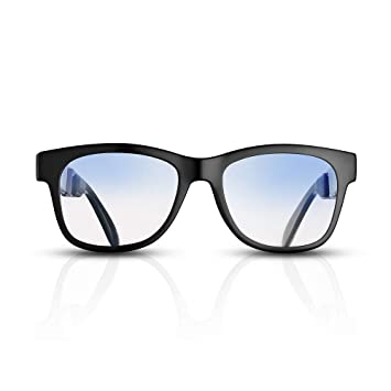 talla 40 a640f 580a6 Auriculares Deportivas con Conducción Osea Gafas de Auriculares Bluetooth  4.1 Inalámbricos con Manos Libres Gafas de Sol a Prueba de Agua Reducción  de ...