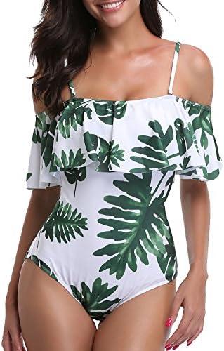 Tempt Me Swimsuit Vintage Shoulder product image