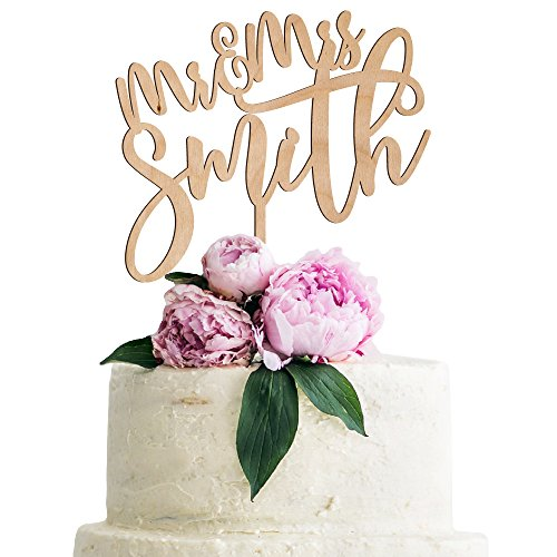 Personalized Wedding Cake Topper - Personalized Wedding Cake Topper Customized Mr.