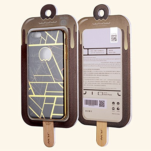 jlw Apple iPhone 6 Plus/6S Plus Étui Housse Case designer or decui plastique rigide Coque