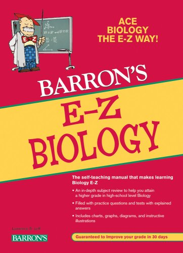 E-Z Biology (Barron's E-Z Series)