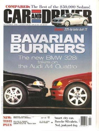 Car And Driver November 1998
