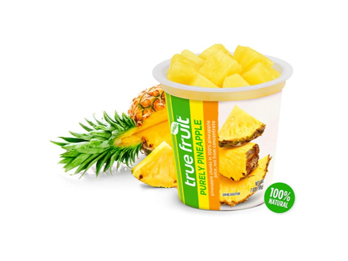 Sundia True Fruit Purely Pineapple with Lid, 7 Ounce -- 12 per case. by Sundia