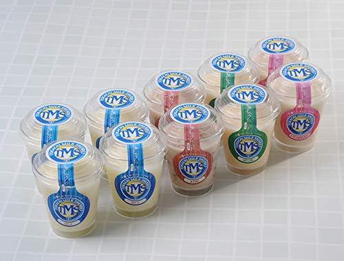 北海道 十勝ミルクシャーベット 濃厚ミルク/いちごミルク/小豆ミルク/メロンミルク 合計10個