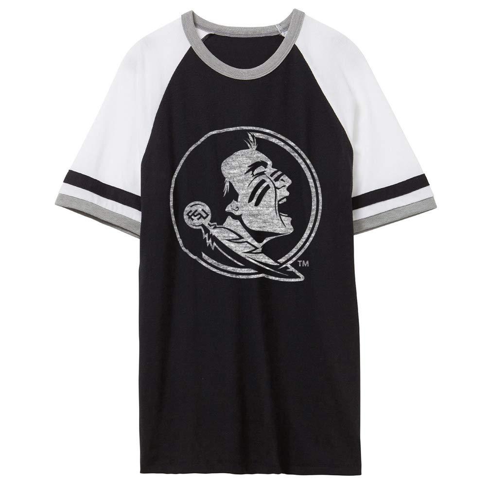 NCAA Florida FSU Noles 01AMAY25 Unisex Slapshot Vintage Jersey T-Shirt