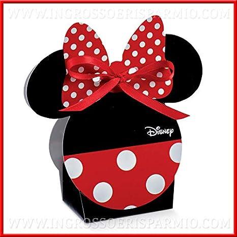Ingrosso E Risparmio 12 Originali Scatoline Disney Con Sagoma Faccia
