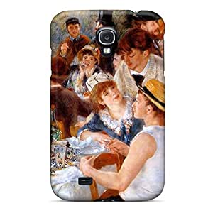 Awesome Luncheon Of The Boating Party Flip Case With Fashion Design For Galaxy S4