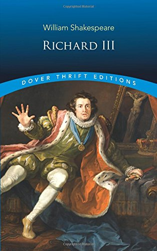 a literary analysis of richard iii by william shakespeare Need help with act 1, scene 3 in william shakespeare's richard iii check out our revolutionary side-by-side summary and analysis.