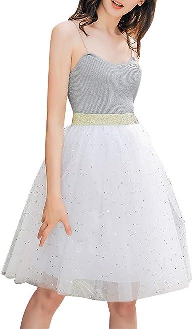 Mibuy Vestido De Fiesta 2020, Moda Vestido Tul Mujer Tutu Falda ...
