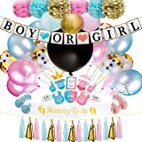 84a364f1c4894 Baby Nest Designs Gender Reveal Party Supplies (109 Pieces) With The  Original Gender Reveal