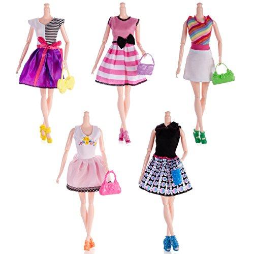 25pcs Barbie Doll Accessories=5p...