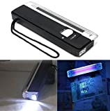 4W Mini Portable UV Light Ultraviolet Black Money Detector Bank Notes Check Torch Flashlight by ShopIdea
