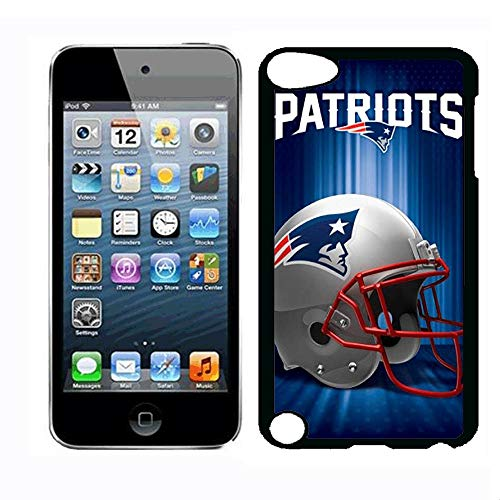 (HXSJK iPod Touch 5th Case New England Case Patriot iPod Touch 5th iPod Touch 6th Case,PC Hard Case)